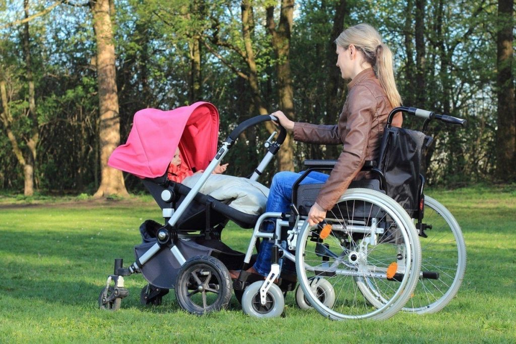 Being a mother with disabilities